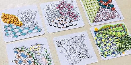 Zentangle 101  for Kids Aged 6 and Above: 19th September 2020 tickets