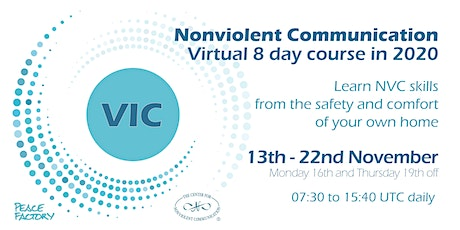Nonviolent Communication Virtual Intensive Course 2020 tickets
