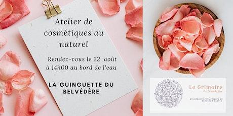 Atelier cosmétiques au naturel : Baume fouetté chantilly de karité billets
