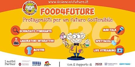 Evento finale Food4Future - giochi  on-line per bambini e famiglie biglietti