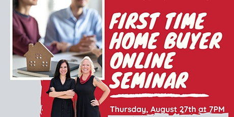 First Time Home Buyer Online Seminar tickets