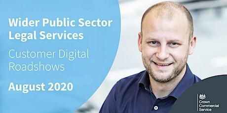 CCS Legal Services - Digital Customer Roadshows August 2020 biglietti
