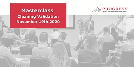 Masterclass Cleaning Validation 2020 tickets