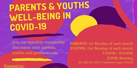 PARENTS AND YOUTHS WELL-BEING IN COVID-19 tickets