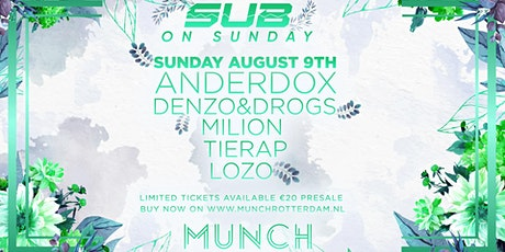 SUB on Sunday tickets