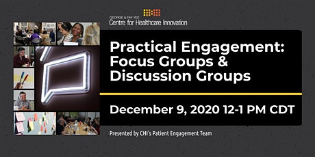 PE Lunchtime Learning: Practical Engagement - Focus & Discussion Groups tickets