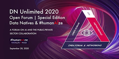 DN Unlimited 2020 Open Forum #humanAIze | Special Edition tickets