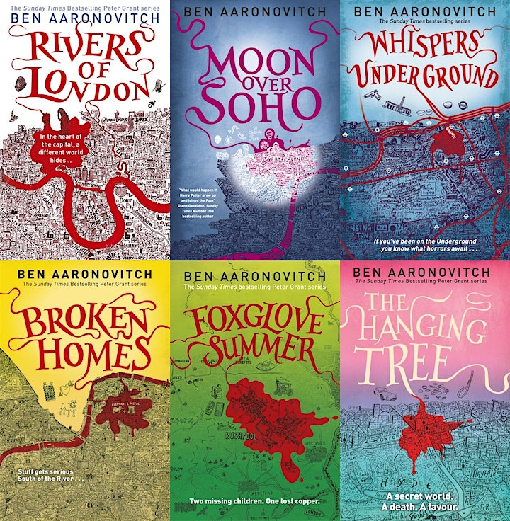 10 years of The Rivers of London  with Ben Aaronovitch - ONLINE TICKET image