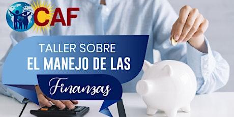 Taller sobre Manejo de Finanzas /Financial Management Workshop entradas