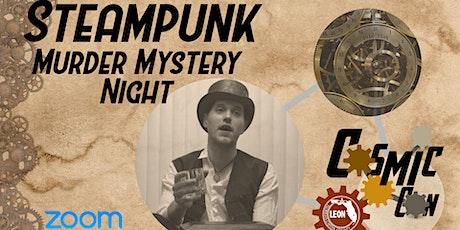 Steampunk Murder Mystery Night 6:30 p.m. tickets