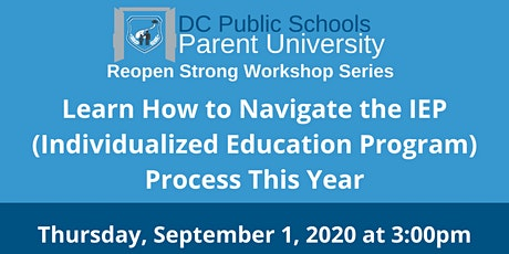 Navigating the IEP (Individualized Education Program) Process This Year biglietti