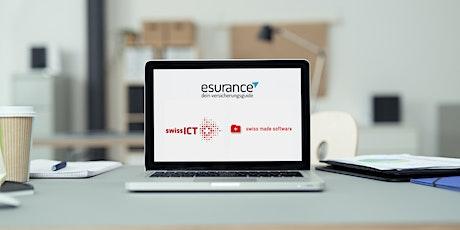 SwissICT and Trust Square present: esurance tickets