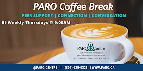 PARO Coffee Break - Sep. 10th tickets