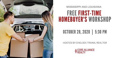 [October] FREE First-time Homebuyer Workshop (Mississippi and Louisiana) tickets