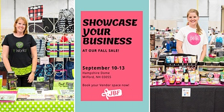Vendor Opportunity - Showcase YOUR Local Business-JBFSNH  Kids' Pop Up Sale tickets