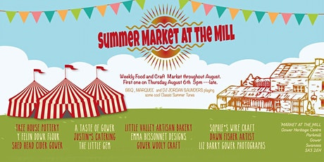Summer market at the Mill every Thursday evening through August tickets
