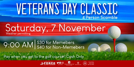 PRGC - 2020 Veteran's Day Classic tickets