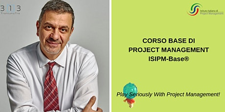 CORSO BASE DI PROJECT MANAGEMENT - PLAY SERIOUSLY WITH PROJECT MANAGEMENT biglietti