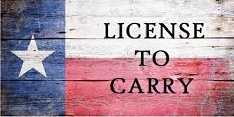 License to Carry Course tickets