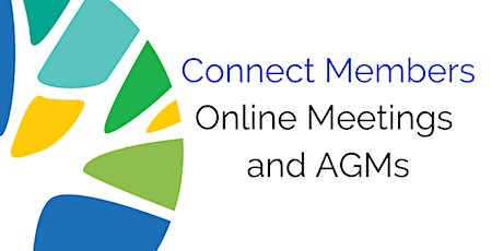 Online Meetings and AGMs - 25 August tickets