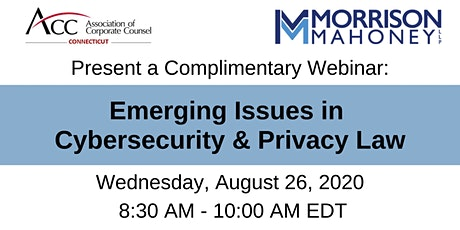 Emerging Issues in Cybersecurity & Privacy Law tickets