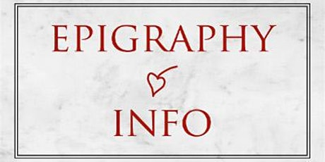 Epigraphy.info V workshop 1: Trismegistos tickets