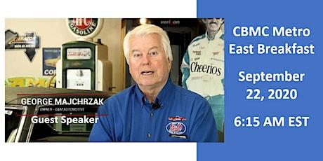 CBMC Metro East Breakfast w/speaker George Majchrzak at G&M Automotive tickets
