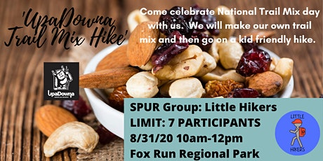 UpaDowna Little Hikers: Trail Mix Hike tickets