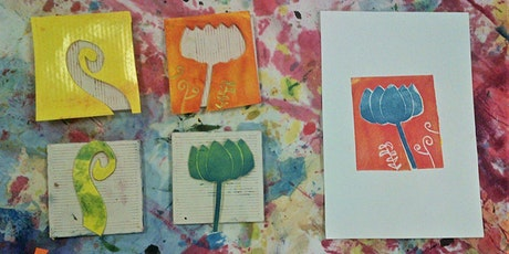 Relief Printing at Home (morning session via Zoom) tickets