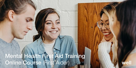 Mental Health First Aid (MHFA) Online Course tickets