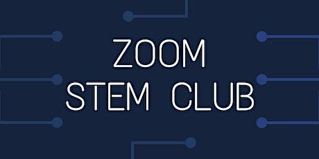 Zoom STEM Club- November 2020 tickets