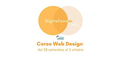 Corsi DigitalizzaMI - Corso Web Design biglietti