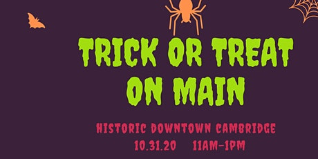Trick or Treat on Main Street tickets