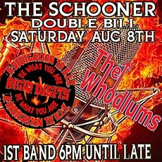 The Whodlums live at the Schooner tickets