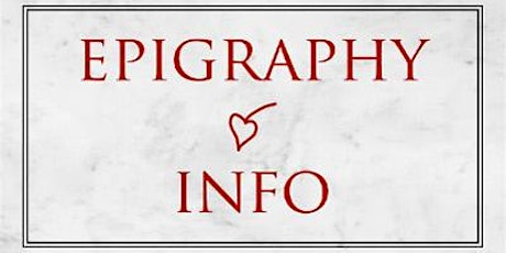 Epigraphy.info V workshop 3: Consolidating and using the EAGLE thesaurus billets