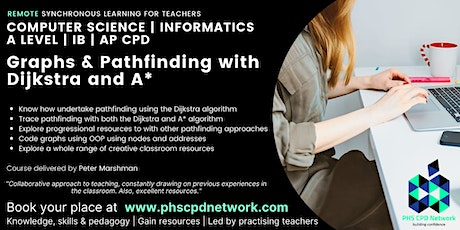 A-Level / AP / IB Computer Science - Graphs & pathfinding and Dijkstra tickets