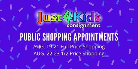 Just4Kids Consignment Public Sale AUG. 19-23 tickets