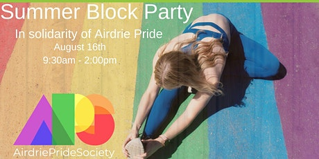 By Donation Family Zumba for Airdrie Pride tickets