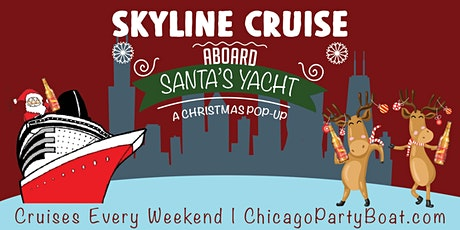 Skyline Cruise Aboard Santa's Yacht on December 19th tickets