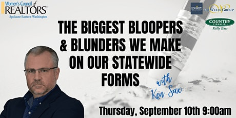 The Biggest Bloopers & Blunders We Make on our Statewide Forms tickets