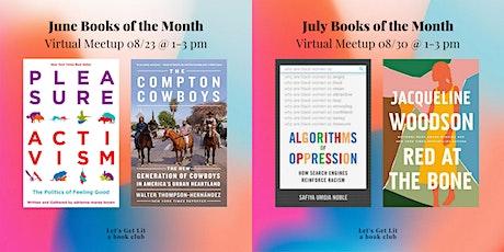 Let's Get Lit Book Club Meetup tickets