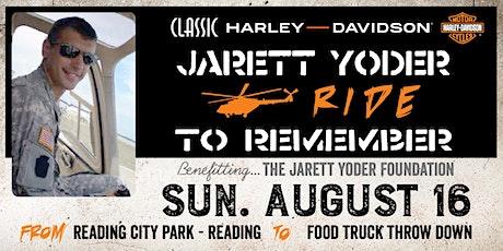 JARETT YODER MEMORIAL RIDE to Food Truck Throw Down tickets
