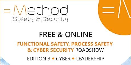 Free Online Method Safety and Security Roadshow biglietti