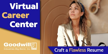 Craft a Flawless Resume [Online Workshop] tickets