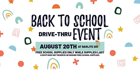 Back To School Drive-Thru Event at Barlite 201 tickets