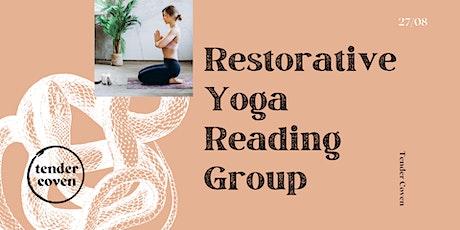 Restorative Yoga Reading Group: Homecoming tickets