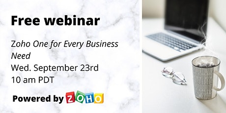 Getting Started with Zoho One tickets
