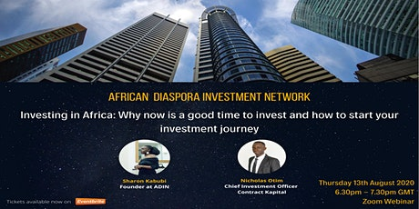 Investing in Africa: Why now is a good time to invest and how to start? tickets