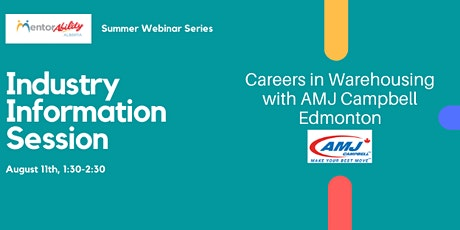 MentorAbility Industry Information Sessions  - Warehousing tickets
