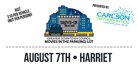 Movies in the Park(ing) Lot - Harriet tickets